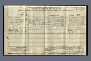 1911 Census - 80 Elm Grove Road, Barnes