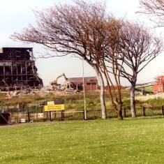Demolition continues at the Westoe Colliery site