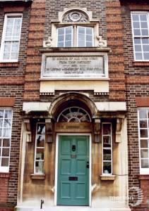 Nelson Hospital: Entrance