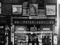 Merton High Street, No. 99:  Peter Kent Newsagent