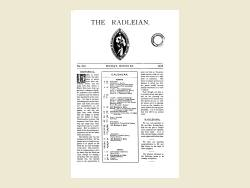 The Radleian 1933 - No. 529 March