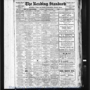 Reading Standard Etc 1920