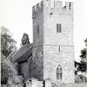 St Marys Church, Monnington, 1949