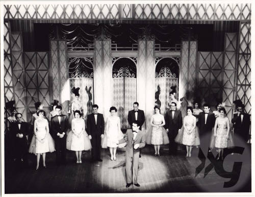 Photograph - Gaiety Whirl 1960 - cast on stage