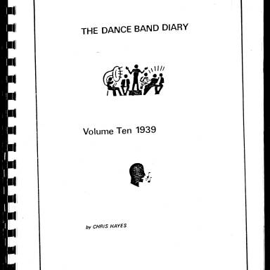 Dance Band Diaries Volume 10 1939