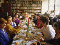 Mitcham Library, Staff party