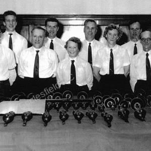 Ecclesfield Handbell Ringers, 1960