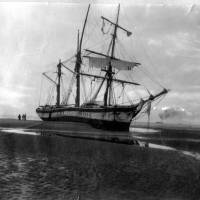 The Russian Barquentine Matador of Riga wrecked 1902 Crosby Shore
