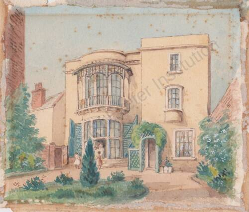 25 Friars Walk, c.1850, Exeter