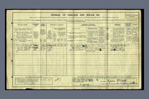 1911 Census - 20 Smith's Buildings, Mitcham