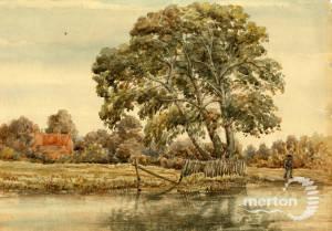 River Wandle, Mitcham