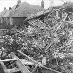 Bomb Damage to Clyveden Rise