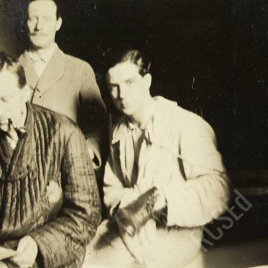 Patients Robertson, Cochrane and (Possibly) Ramsay In Bathroom