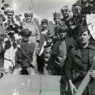 1st Whitchurch Cubs, dressed in Robin Hood inspired outfits, 17th September 1981