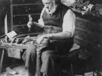 William Wallis, Cobblery at London Home, Mitcham