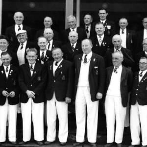 A bowling club team from Glamorgan.