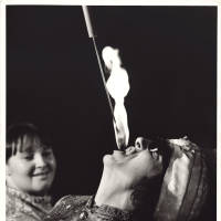 Photograph - unknown fire eater