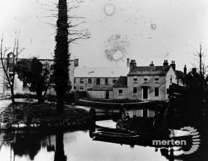 Flour, Flock & Snuff Mill and Fisheries Cottages, Mitcham