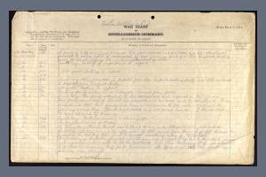War Diary Extract for the 2nd Battalion, Wiltshire Regiment  -  Ernest Robert Hatton