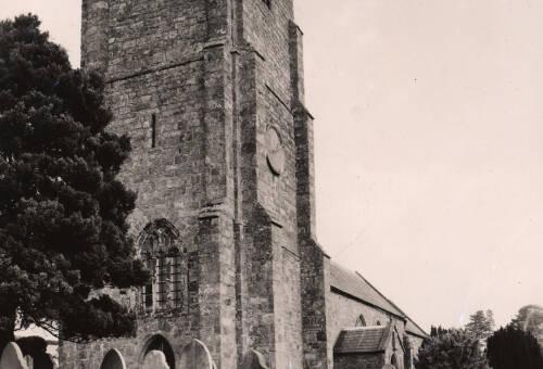 All Saints Church, c1960, East Budleigh