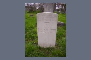 Gravestone of William J Newman