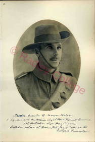 WW1 Maryon-Wilson AG095