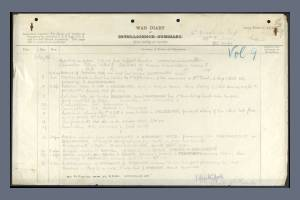 War Diary of 16th Middlesex Regiment for July 1916