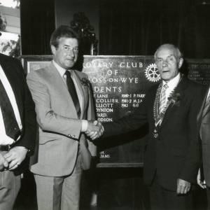 RG1879 New President of Rotary Club, Ross-on-Wye, 7th July 1983.jpg