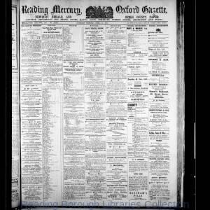 Reading Mercury Oxford Gazette 04-1917