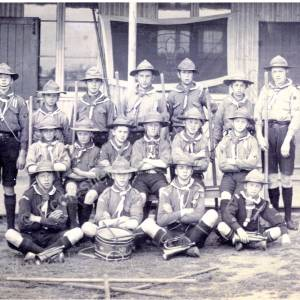 Grenoside Scouts At Withernsea Camp August 1912