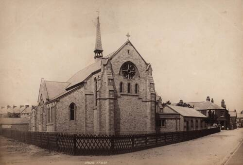 St. Andrew's Church, 1896, Exmouth