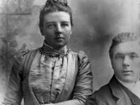 John Marsh Pitt and his wife Emily