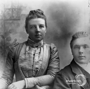 John Marsh Pitt and his wife Emily