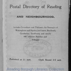Smith's Directory of Reading 1918