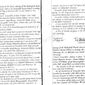 Ecclesfield Parish Council Minute Book 1894-1914
