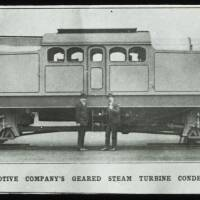 North British Locomotive Company's geared steam turbine condensing locomotive.