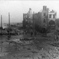 Market Place after Bombing