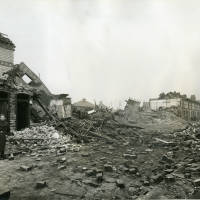 Akenside Street, bomb damage, WW2