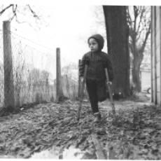 1969 Debbie Spooner Garage Block Churchfield Road, Tithe Farm Estate