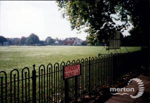 Cricket Green, Mitcham from London Road