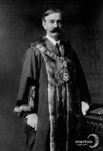 Alderman H.W.Simpson, Wimbledon councillor, 1916-18