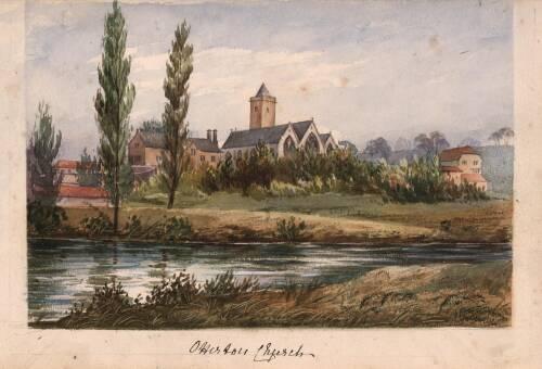 Otterton Church, c1870, Otterton