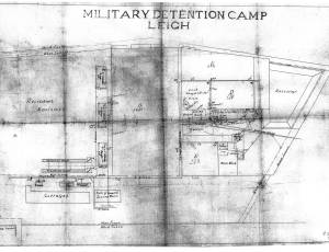 Plan of military detention camp Leigh, dated 1 Dec 19140001.jpg
