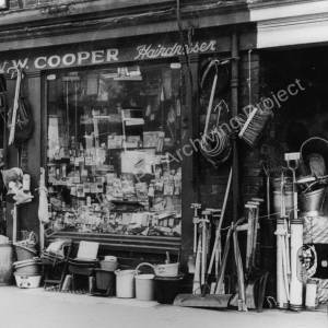 'Chinny' Cooper's shop, Station Rd, Chapeltown