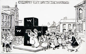 Children's Gift Day Postcard