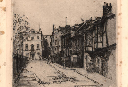 Cathedral Close, 1914, Exeter
