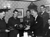 Air Training Corps:  Presentation of Benton Shield