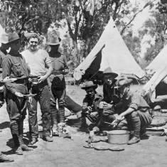 3rd Field Ambulance at Blackboy Hill Camp, WAR 1914