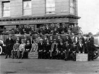 Albion: Outing from the Gorringe Park Hotel, Church Road