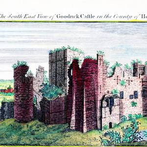 Goodrich Castle, colour